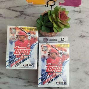 Topps Baseball 2021 Blaster & Hanger Box